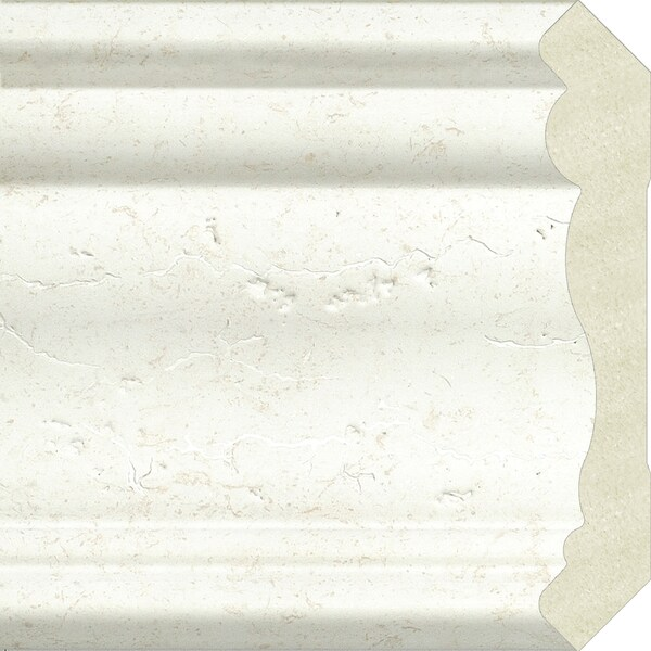 Upscale Designs 72-inch Polystyrene White Crown Moulding (10 panels)