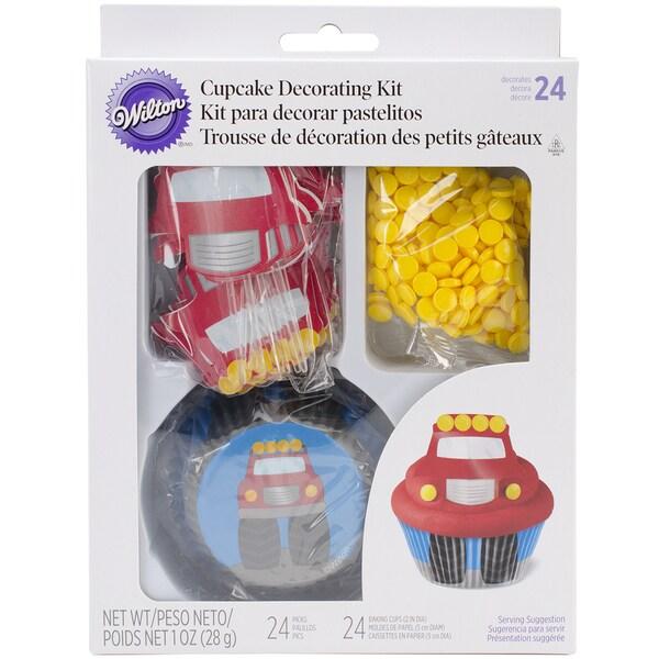 Cupcake Decorating Kit Makes 24Truck 16250605