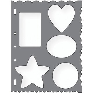 Shape Template 8.5inX11inShapes