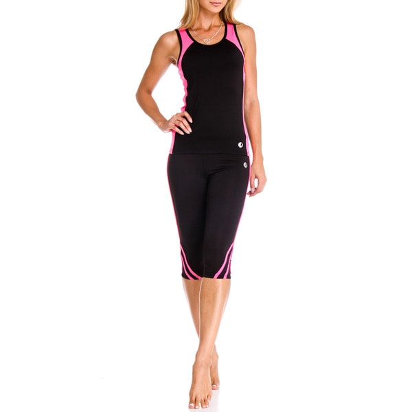 Necessity Women's High Performance Activewear Capri Pants