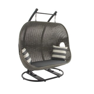 Metal Wicker Swing Chair