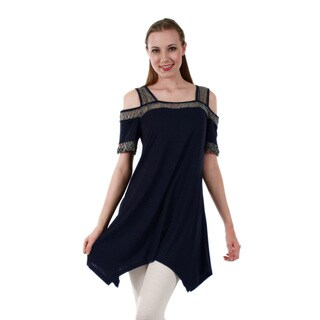 Firmiana Women's Short Sleeve Tunic