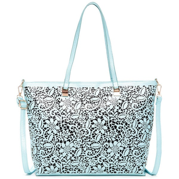 Pink Haley Flower City Tote