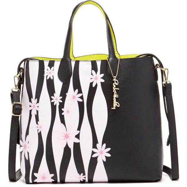 Pink Haley Emma Flower Reversible Tote