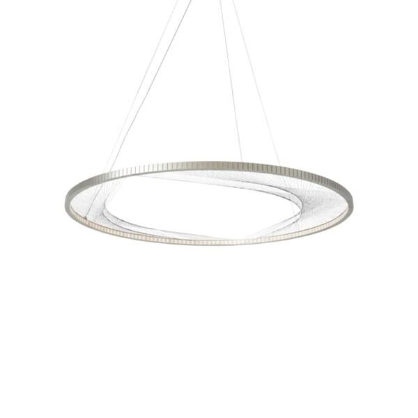 LBL Interlace 45 Satin Nickel LED Suspension