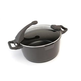 Virgo 10-inch Dark Covered Stockpot