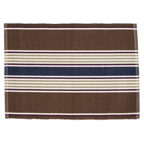 Brown Road Rectangle Placemats (Set of 4)