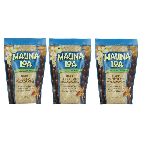 Mauna Loa Dark Chocolate Macadamia Nuts