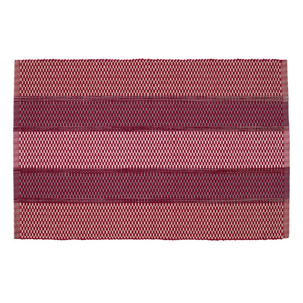 Festival Rouge Rectangle Placemats (Set of 4)