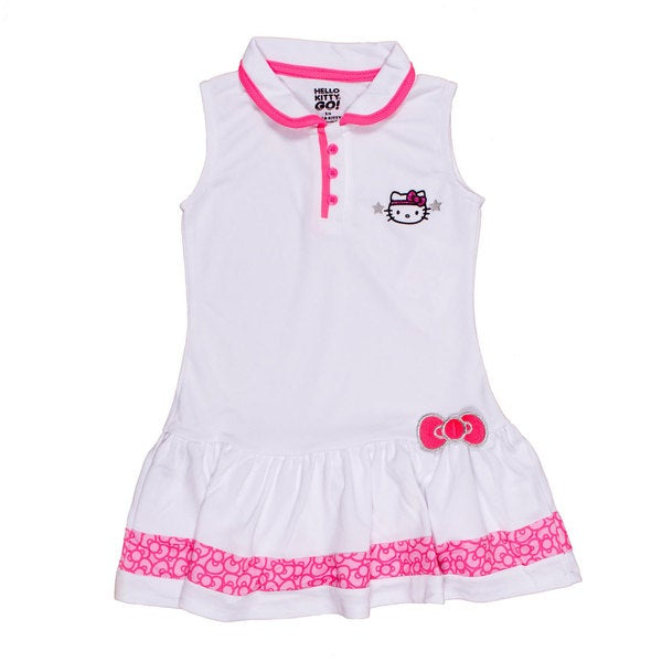 Hello Kitty Collared Tennis Dress