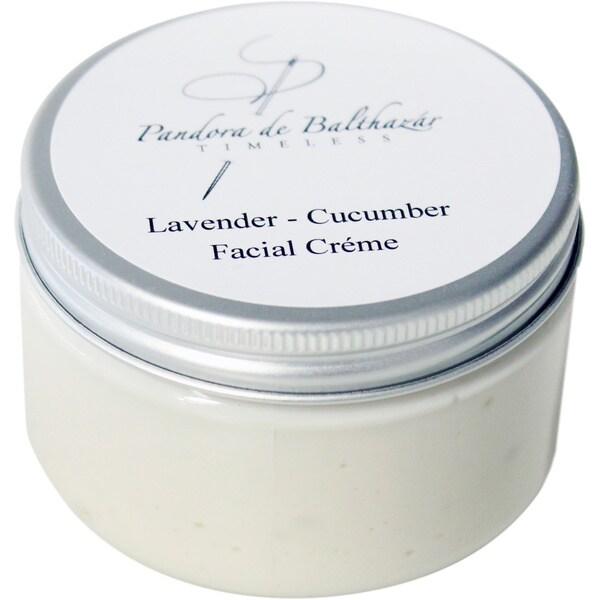Pandora de Balthazar Lavender Cucumber 4-ounce Handmade Facial Cream