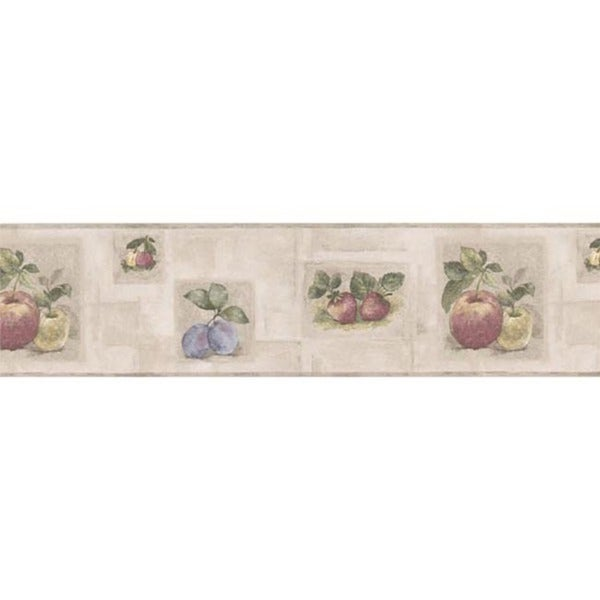 Fruit Tile Wallpaper Border