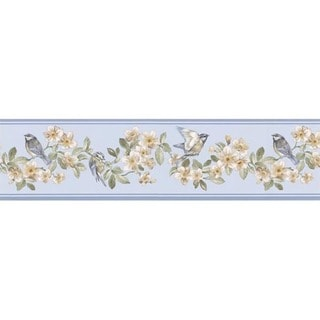Sky Songbird Wallpaper Border