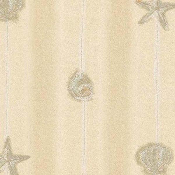 Beige Shell & Starfish Wallpaper