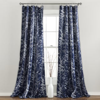 Lush Decor Forest Window Curtain Panel Pair
