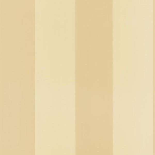 Beige Wide Stripe Wallpaper