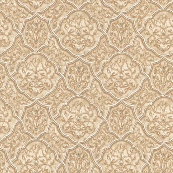Brown Ironwork Wallpaper