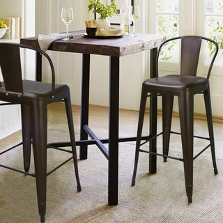 Avenue Greene Luxor 24 Inch Metal Counter Stool Set Of 2