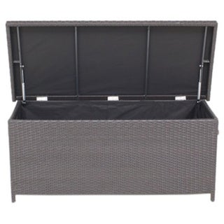 Modena Outdoor Rattan Garden Cushion Storage Box