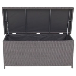 Modena Outdoor Rattan Garden Cushion Storage Box
