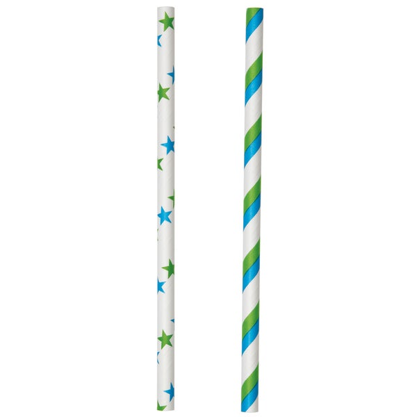 Lollipop SticksBlue & Green 6in 30/Pkg