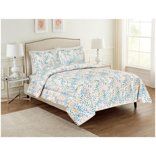 Ellen Tracy Imani 3-piece Abstract Dots Comforter Set