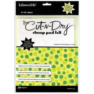 Inkssentials CutNDry Stamp Pad Felt8inX10in Sheet