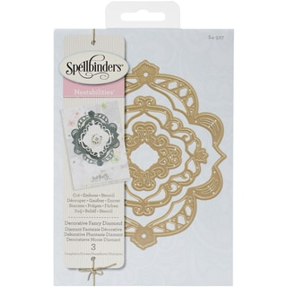 Spellbinders Nestabilities Decorative Elements DiesFancy Diamond