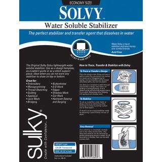 Solvy WaterSoluble Stabilizer19.5inX3yd