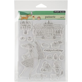 Penny Black Clear Stamps 5inX6.5in SheetPatisserie