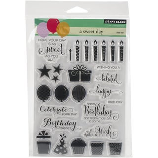Penny Black Clear Stamps 5inX6.5in SheetA Sweet Day