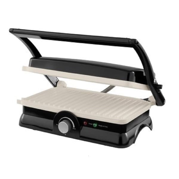 Oster CKSTPM20WECO-006 Black DuraCeramic Panini Maker and Grill