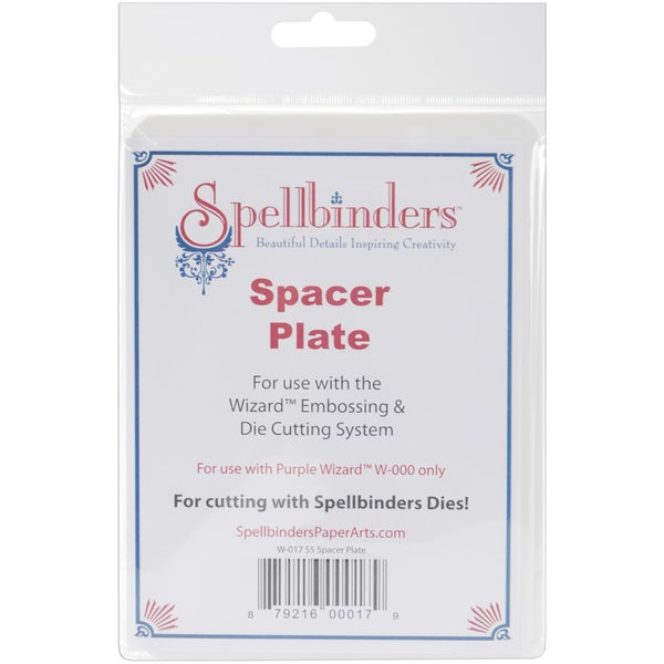 Spellbinders Wizard S5 Spacer Plate 5inX7in