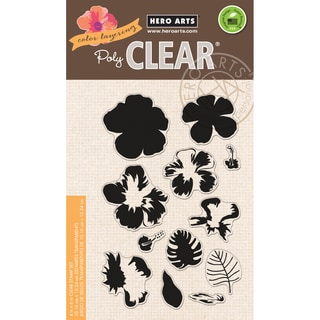Hero Arts Clear Stamps 4inX6in SheetColor Layering Hibiscus