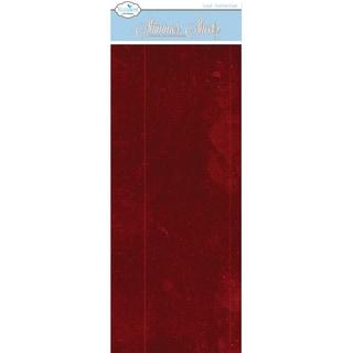 Metallic Mylar Shimmer Sheetz 5inX12in 3/PkgRaspberry