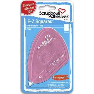 Scrapbook Adhesives EZ Square Tabs 650/PkgPermanent