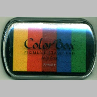 ColorBox Pigment Ink Pad 5 ColorsPrimary