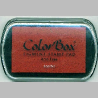 ColorBox Pigment Ink PadScarlet