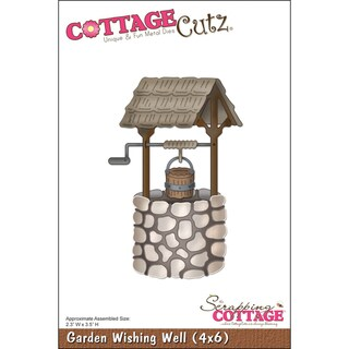 CottageCutz DieGarden Wishing Well 2.3inX3.5in