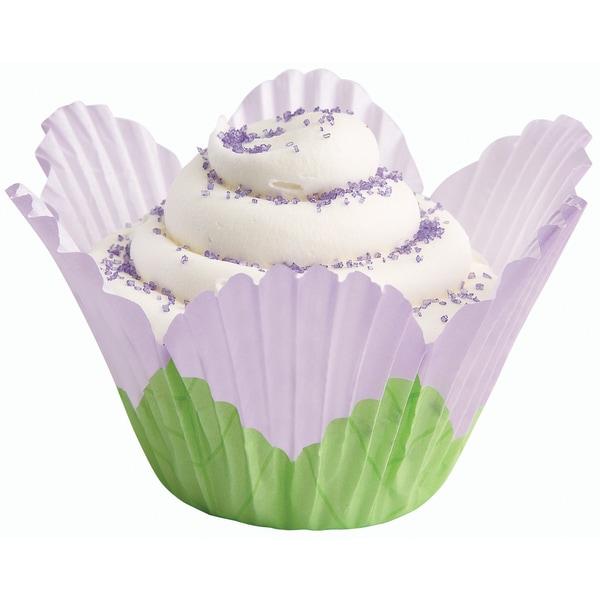 Fancy Standard Baking CupsPetal Lavender 24/Pkg 16255747