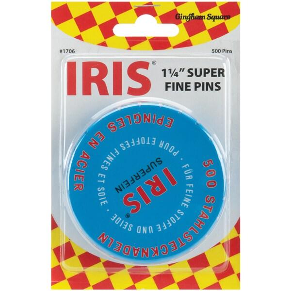 Iris Swiss Super Fine PinsSize 20 500/Pkg