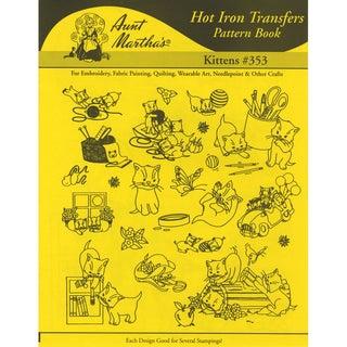 Aunt Martha's IronOn Transfer BookKittens