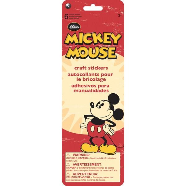 SandyLion Disney Stickers 6/PkgMickey 16255954