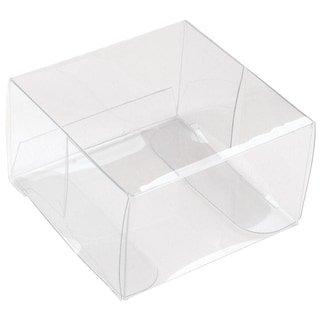 Square Favor Box 2in 12/PkgClear Acetate
