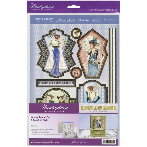 Deco Delights Luxury Topper Set A4A Touch Of Style