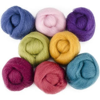 Wool Roving 12in .25oz 8/PkgDesigner