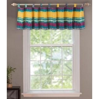 Southwest Stripe Window Valance