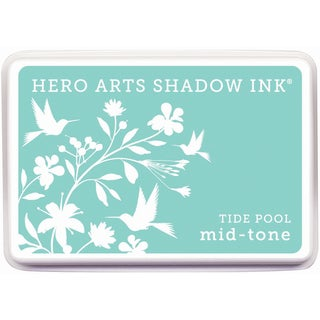 Hero Arts Midtone Ink PadsTide Pool