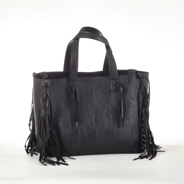 Fringed Design Tote Bag
