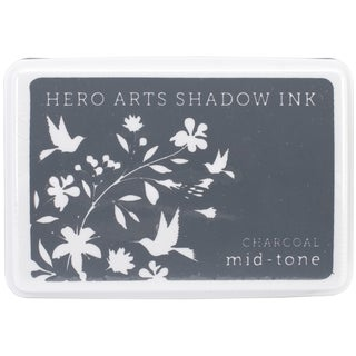 Hero Arts Midtone Ink PadsCharcoal